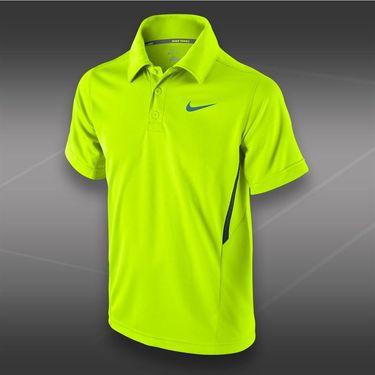 Nike Boys NET UV Polo-Volt