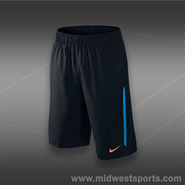 Nike Boys NET Short-Black/Blue