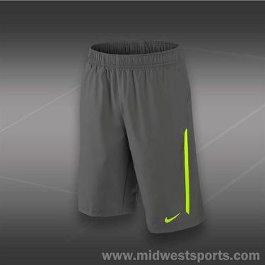 Nike Boys NET Short-Dk Magnet Grey