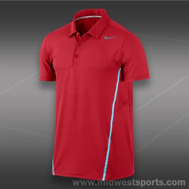 Nike Sphere Polo- University Red