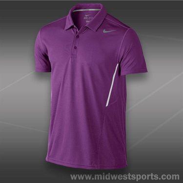 Nike Power UV Polo- Bright Grape