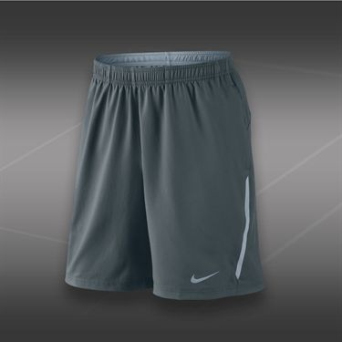 Nike Power 9 Inch Woven Short-Dark Magnet Grey