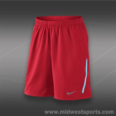 Nike Power 9 Inch Woven Short- University Red