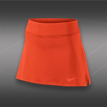 Nike 13 Inch Straight Knit Skirt-Team Orange