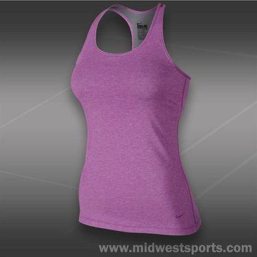 Nike Lean Tank-Noble Violet Heather