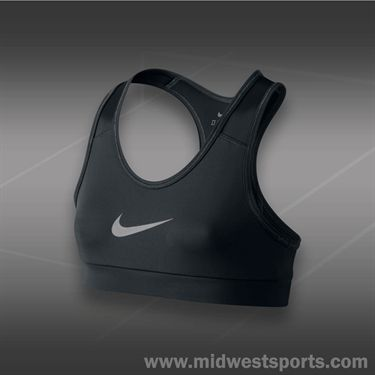 Nike Girls Pro YA Hypercool Bra-Black