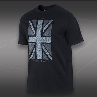 Nike Union Grass Short Sleeve T-Shirt-Black
