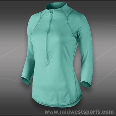 Nike Baseline 1/2 Zip Top-Diffused Jade