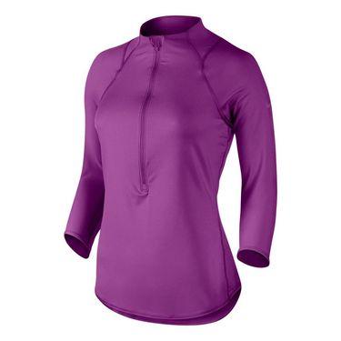 Nike Baseline 1/2 Zip Top - Cosmic Purple