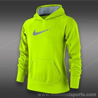 Nike Girls KO 2.0 Hoody-Volt