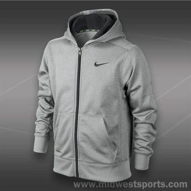Nike Boys KO 2.0 Hoody-Dk Grey Heather