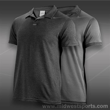 Nike Reversible Polo- Black Htr/Cool Grey