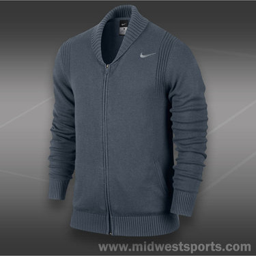 Nike Full Zip Sweater-Dark Armory Blue