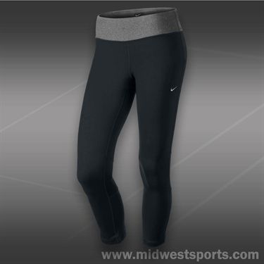 Nike DriFit Epic Run Crop-Black