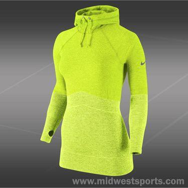 Nike Pro Hyperwarm Hoody-Volt