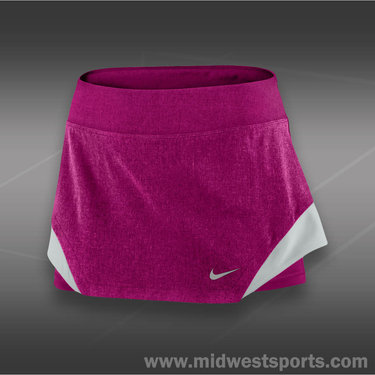 Nike Heathered Woven Skirt-Raspberry Red