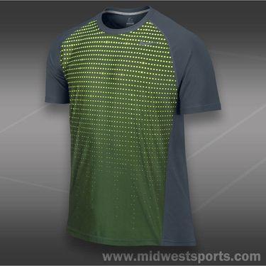 Nike Advantage UV Graphic Crew-Dark Armory Blue
