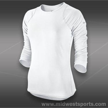 Nike Baseline Three Quarter Sleeve Top