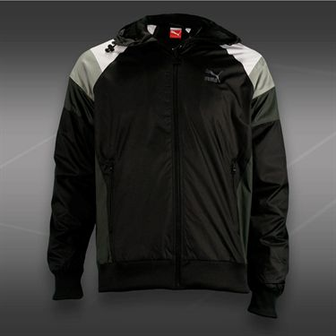 Puma Seasonal Wind Jacket-Black