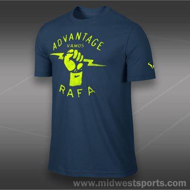 Nike Rafa T-Shirt-Brave Blue