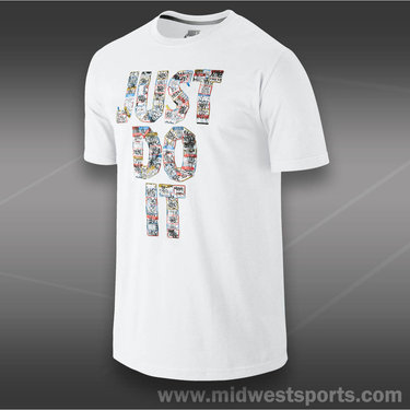 Nike Sticker T-Shirt-White