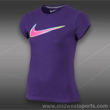Nike Girls Swoosh Wild Out T-Shirt