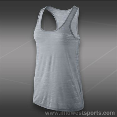 Nike Dri-FIT Touch Breeze Tank-Wolf Grey