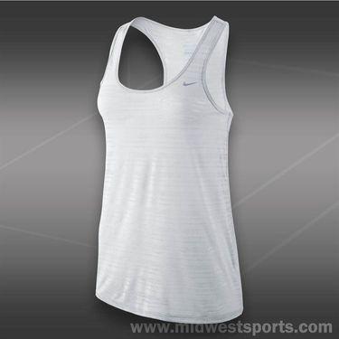 Nike Dri-FIT Touch Breeze Tank-White