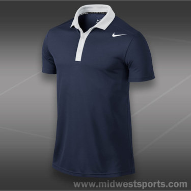 Nike Baseline Polo-Midnight Navy