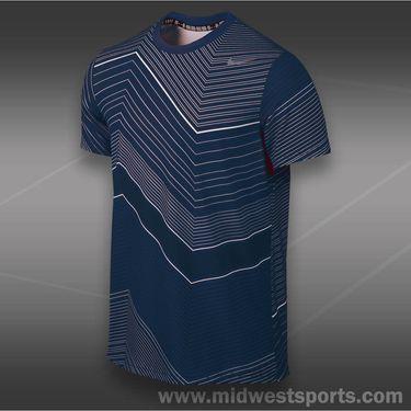 Nike Rally Sphere Stripe Crew-Midnight Navy
