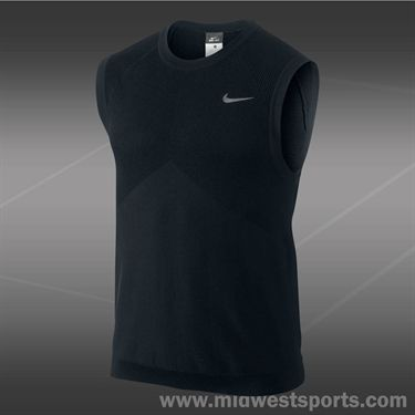 Nike Sweater Vest-Black