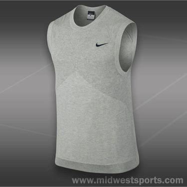 Nike Sweater Vest-Grey Heather