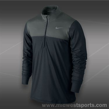 Nike 1/2 Zip Long Sleeve-Black
