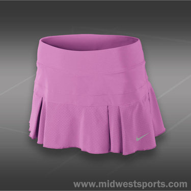 Nike Pleated Woven Skirt-Red Violet