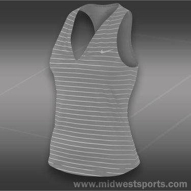 Nike Stripe Pure Tank-White