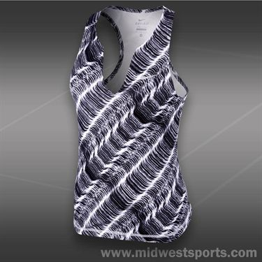 Nike Stripe Pure Tank-White