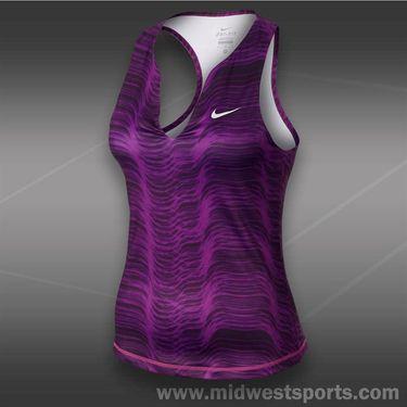Nike Stripe Pure Tank-Bright Grape