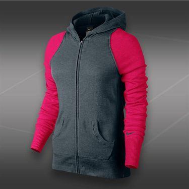 Nike Knit Sweater Jacket-Dark Magnet Grey