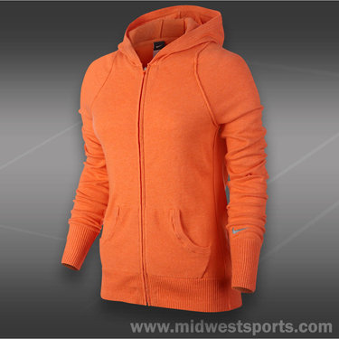 Nike Knit Sweater Jacket-Turf Orange