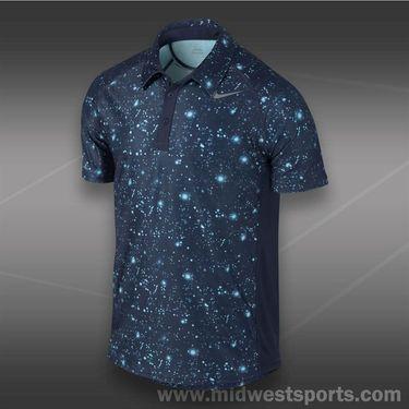 Nike Advantage UV GFX Polo- Midnight Navy