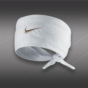 Nike Hero Print Bandana-White