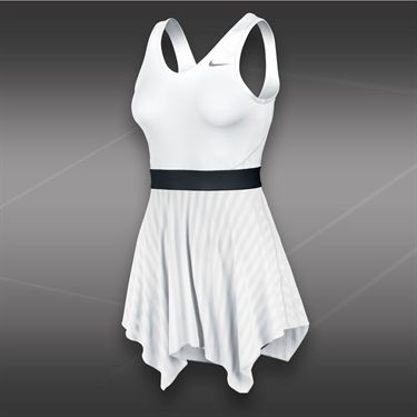Nike Novelty Knit Dress-White
