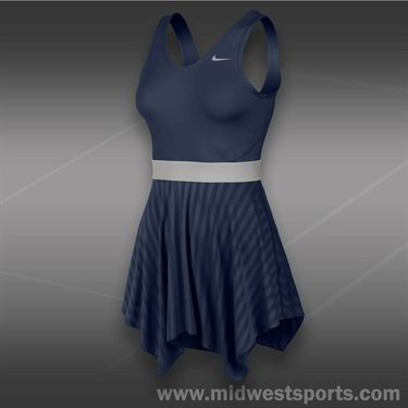 Nike Novelty Knit Dress-Midnight Navy
