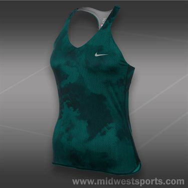 Nike Advantage Printed Tank-Turbo Green