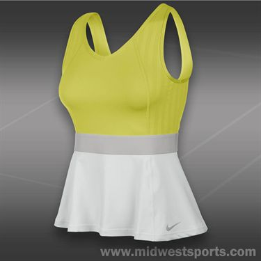 Nike Novelty Tank-Venom Green
