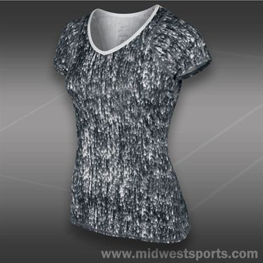 Nike Advantage Printed Top-White