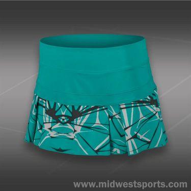 Nike Printed Pleated Woven Skirt-Turbo Green