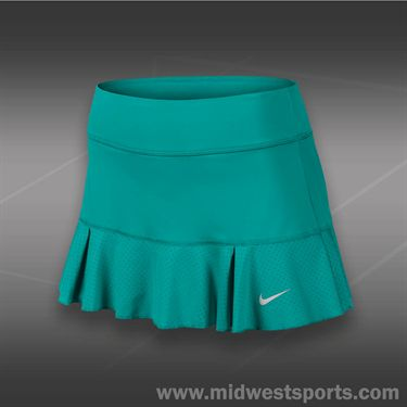 Nike Flirty Knit Skirt-Turbo Green