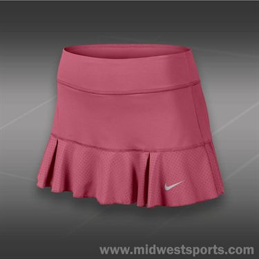 Nike Flirty Knit Skirt-Geranium