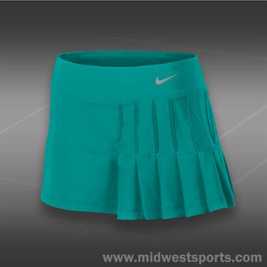 Nike Pintuck Pleated Woven Skirt-Turbo Green